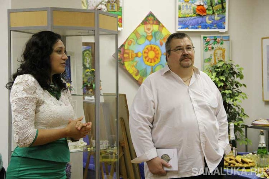 Персональная выставка графики Романа Гринева