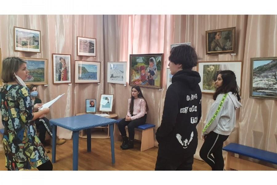Мастер-класс «Жанры живописи»